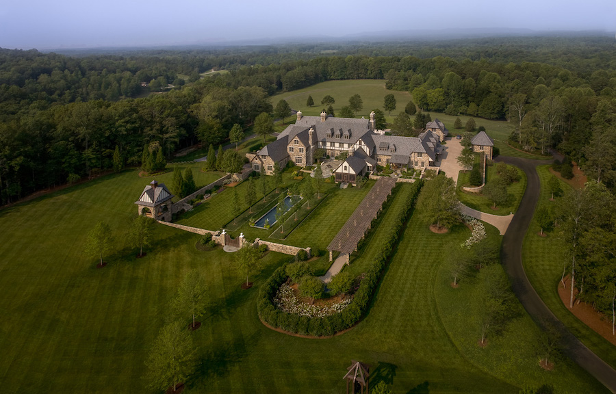 200 Acre English Country Estate In Atlanta Ga By