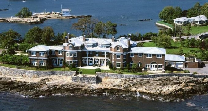 All View, Historic c.1890 Mansion on Private Peninsula in New Rochelle, NY for $18.95M (PHOTOS)