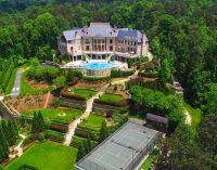 Tyler Perry's Former 17 Acre Atlanta Estate Includes 35,000 Sq. Ft. Mansion for $25M (PHOTOS & VIDEO)