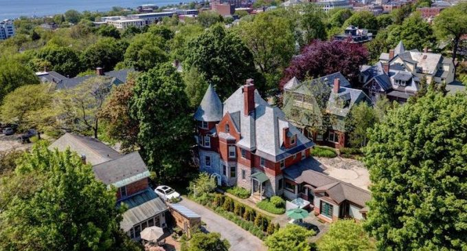 Burlington, VT's Historic c.1899 McGeary Mansions Lists for $1.99M (PHOTOS & VIDEO)