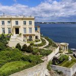 Cliffside Modern Replica of a French Villa Lists in Nahant, MA for $2.95M (PHOTOS)