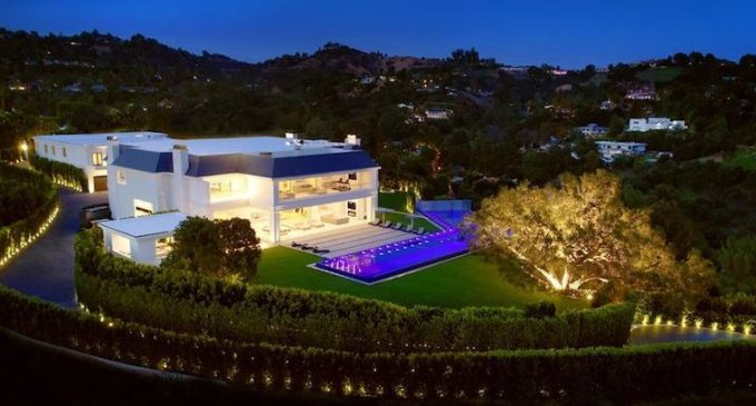 38,000 Sq. Ft. Beverly Hills Mansion Transformed in Complete Modernization, Lists for $135M (PHOTOS)