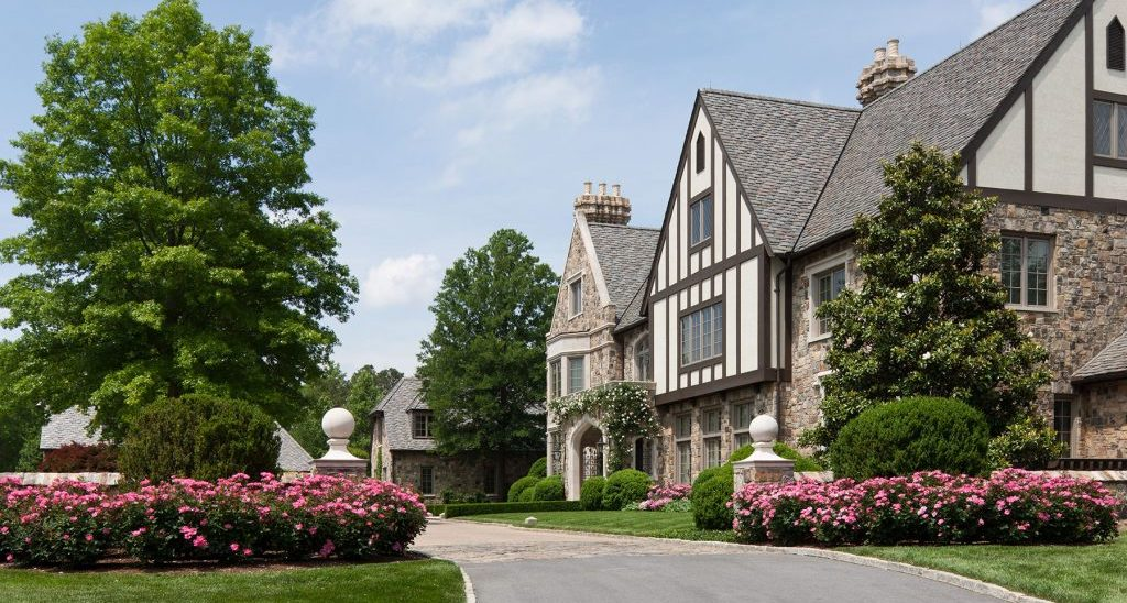 200 Acre English Country Estate in Atlanta, GA by Architect William T. Baker (PHOTOS)