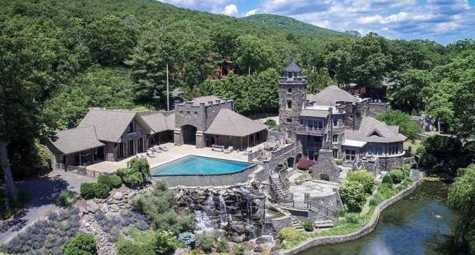 Derek Jeter Lists Historic c.1915 Tiedemann Castle on Greenwood Lake for $14.75M (PHOTOS & VIDEO)