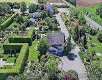 Historic 50 Acre Garden Oasis with 5,700 Sq. Ft. Rose Garden in Mount Vernon, WA Reduced to $2.28M, Prev. $2.68M (PHOTOS)