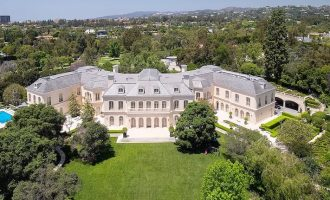 Holmby Hills Iconic 56,000 Sq. Ft. Spelling Manor Reduced to $175M, Prev. $200M (PHOTOS)