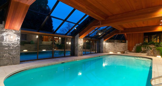 $40M20,000 Sq. Ft.West Vancouver, BC Mansion with Indoor Pool Transformed in Complete Home Makeover (PHOTOS)