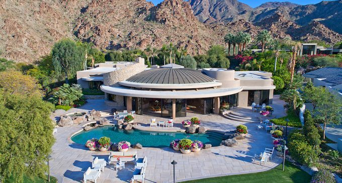 Las Cascadas Cove Estate in Indian Wells, CA Reduced to $5.95M, Prev. $8.95M (PHOTOS & VIDEO)