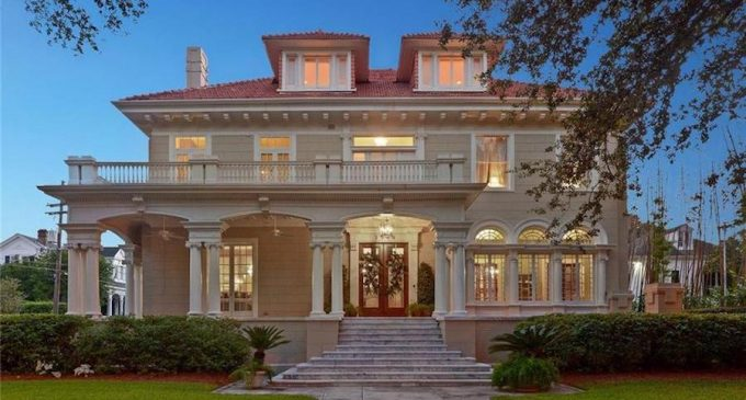 Spectacular Beaux-Arts Style Mansion Designed by Architect Emile Weil Lists in New Orleans, LA for $1.95M (PHOTOS)