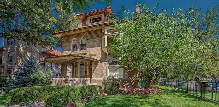 Historic c.1903 Brown-Mackenzie House in Denver, CO Reduced to $2.5M, Prev. $3.77M (PHOTOS)