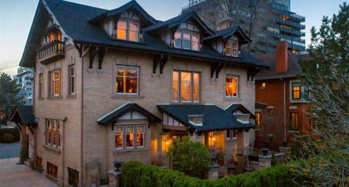 Historic c.1911 Denver, CO Home with Exquisite Original Details for $2.17M (PHOTOS)