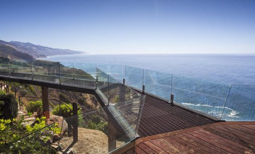 Inside Terra Mar, Big Sur, CA's Iconic Cliffside Home by Architect Mickey Muennig for $7.5M (PHOTOS)