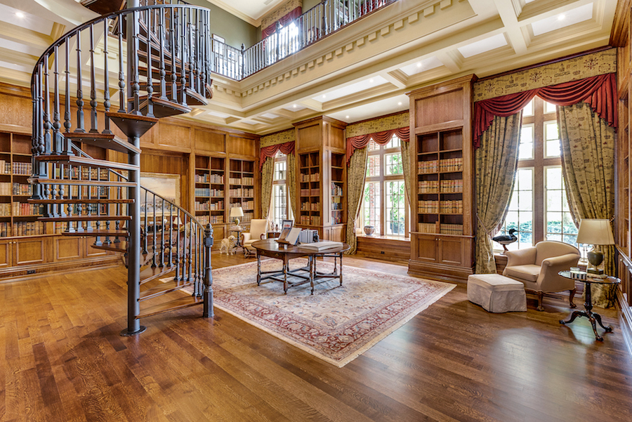 Exterior: Oakville, ON's 43,800 Sq. Ft. Chelster Hall Reduced To