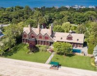Premier Shingle Style Beach Home with 225′ of Beachfront in Northport, NY Reduced to $6.75M, Prev. $7.99M (PHOTOS & VIDEO)