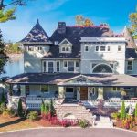 Restored c.1896 Home with 154′ on Cos Cob Harbor in Riverside, CT for $6.5M (PHOTOS & VIDEO)