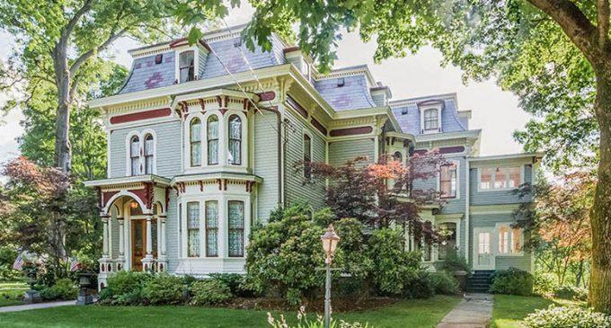 Landmark c.1876 Hale-Goodrich Home in Glastonbury, CT Reduced to $899K, Prev. $1.2M (PHOTOS)