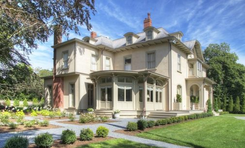 Newport, RI's Restored c.1853 Quatrel Mansion Reduced to $5.99M, Prev. $8.25M (PHOTOS)