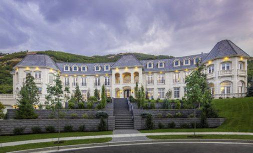 Draper, UT's 22,000 Sq. Ft. Loeffler Mansion Reduced to $6.5M, Prev. $7.75M (PHOTOS & VIDEO)