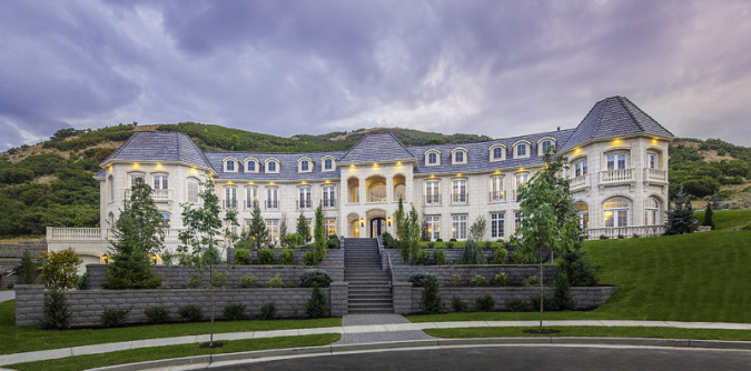 Draper, UT's 22,000 Sq. Ft. Loeffler Mansion Relists for $10M (PHOTOS)