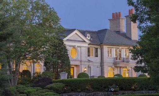 Reebok Founder Paul Fireman's Brookline Mansion Reduced to $69M, Prev. $90M (PHOTOS & VIDEO)