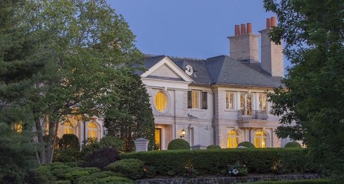 Reebok Founder Paul Fireman's Brookline Mansion Reduced to $69M, Prev. $90M (PHOTOS & VIDEO)