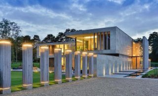21,000 Sq. Ft. Modern Estate in Virginia Water, UK's Exclusive Wentworth Golf Club for £18.75M (PHOTOS & VIDEO)