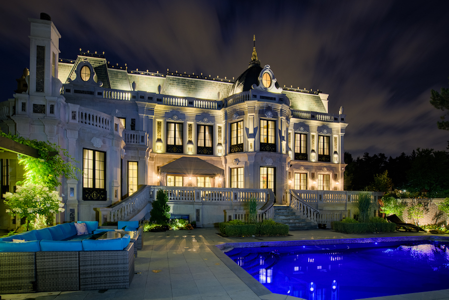 Toronto On S 24 000 Sq Ft La Belle Maison Mansion