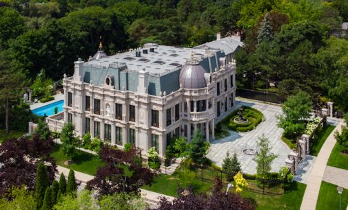 Toronto, ON's 24,000 Sq. Ft. La Belle Maison Mansion Relists for $21.78M, Prev. $19.8M (PHOTOS)