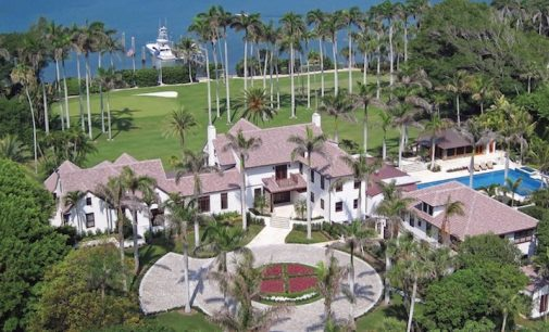Pro Golfer Greg Norman Demolishes $65M c.1902 Florida Mansion (PHOTOS)