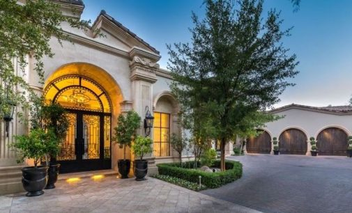 Mummy Mountain's 20,000 Sq. Ft. Bella Paradiso Lists in Paradise Valley, AZ for $22.88M (PHOTOS)