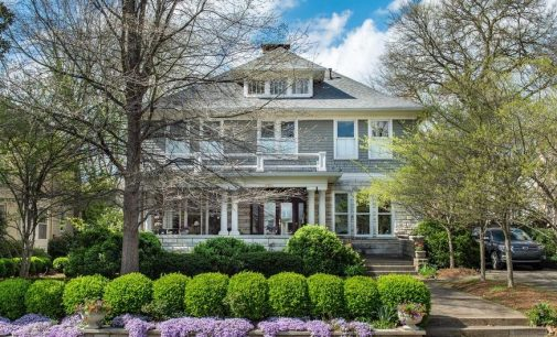 Historic c.1928 Stone & Shingle Foursquare Lists for $1.88M in Nashville, TN (PHOTOS)