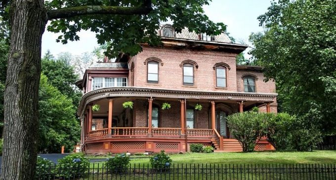 Historic c.1856 Second Empire Mansion in Newburgh, NY Reduced to $639K (PHOTOS)