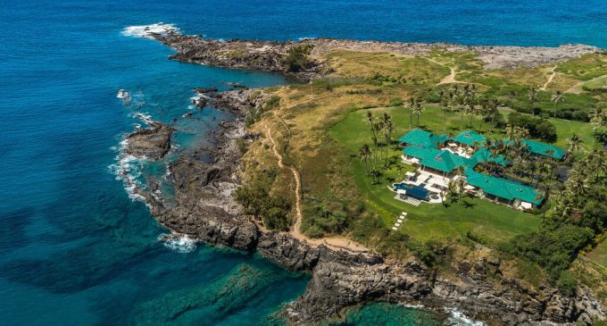 Craig Ramsey's $49M Oceanfront Estate is Maui's Most Expensive (PHOTOS & VIDEO)