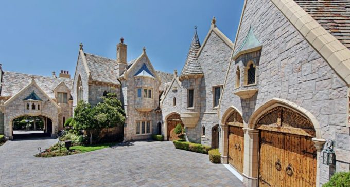 Las Vegas, NV's 12,000 Sq. Ft. Rose Manor Reduced to $3.75M, Prev. $5.25M (PHOTOS)