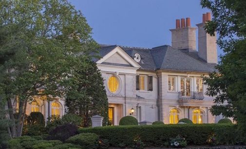 Brookline, MA's 26,000 Sq. Ft. Woodland Manor Reduced to $69M, Prev $90M (PHOTOS & VIDEO)