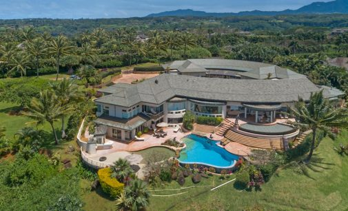 Architectural Showplace on Hawaiian Island of Kauai Reduced to $22M (PHOTOS)