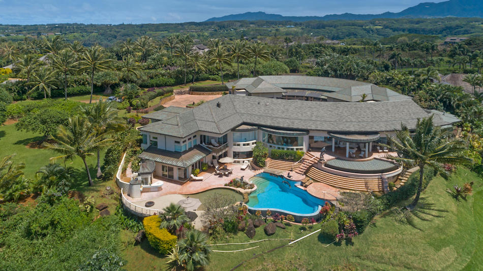 Architectural Showplace on Hawaiian Island of Kauai Reduced to $20M (PHOTOS)