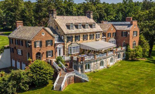 Irvington, NY's Historic c.1929 Longmeadow Estate Reduced to $4.95M, Prev. $8.99M (PHOTOS & VIDEO)