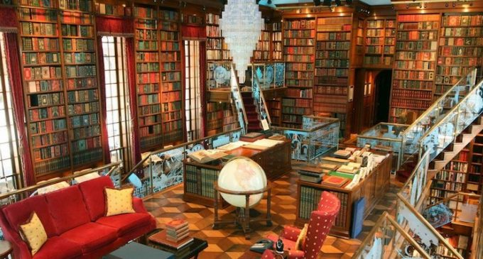 Inside Jay Walker's Hillside Connecticut Estate with Spectacular 3,500 Sq. Ft. Library (PHOTOS & VIDEO)