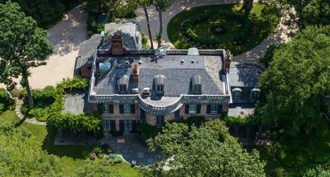 Historic c.1933 Belvedere Residence in Cold Spring Harbor, NY Reduced to $4.5M, Prev. $6.2M (PHOTOS & VIDEO)