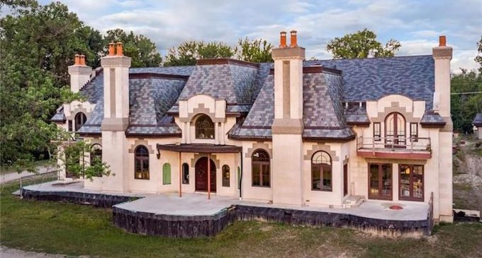 Unfinished 16,800 Sq. Ft. Grosse Ile, MI Manor with Tanglewood Conservatory Reduced to $4.75M, Prev. $29M (PHOTOS)