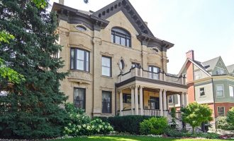 Buy Chicago, IL's Historic 1892 Goodman Mansion for $4.5M (PHOTOS)