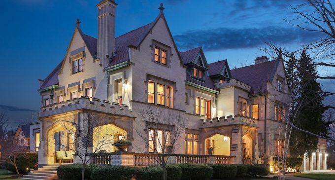 Historic c.1905 Burton F. Hales Mansion Reduced to $1.85M, Prev. $2.5M (PHOTOS)