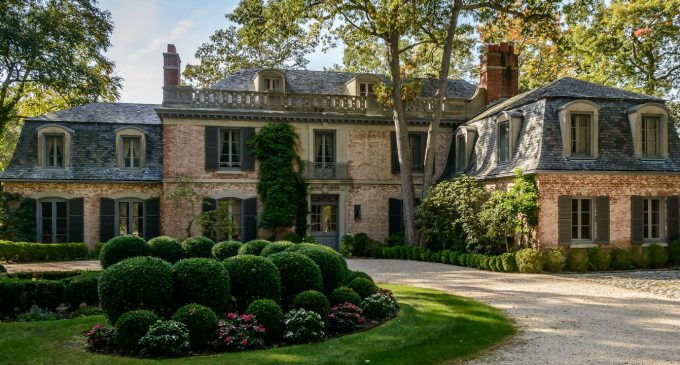 Historic c.1933 Belvedere Residence in Cold Spring Harbor, NY Reduced to $4.7M, Prev. $6.2M (PHOTOS & VIDEO)