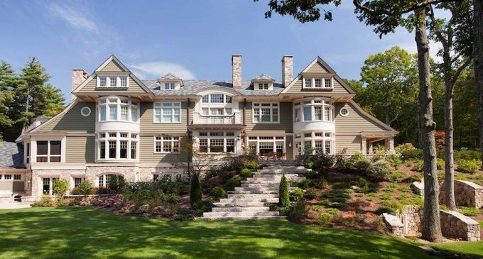 12,000 Sq. Ft. Hopkinton, MA Residence by Catalano Architects Lists for $4.12M (PHOTOS)