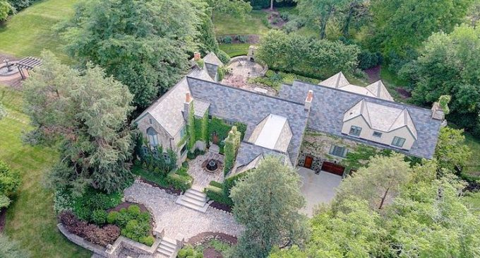Historic c.1920 Manor on 3 Acres in Elm Grove, WI for $2.77M (PHOTOS)