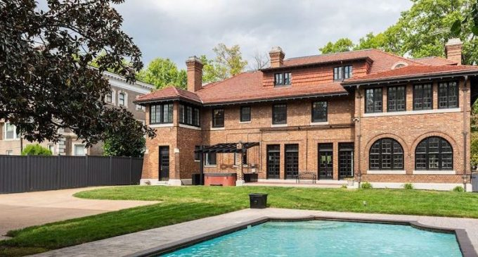 Historic c.1911 Brick Mansion in St. Louis, MO for $1.39M (PHOTOS & VIDEO)