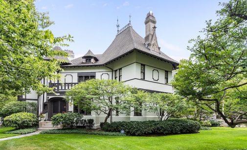 Evanston, IL's Historic c.1891 Tudor Revival Lists for $2.65M (PHOTOS & VIDEO)