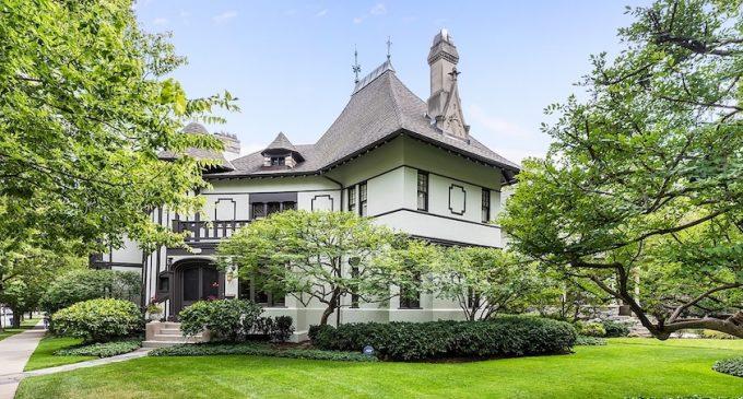 Evanston, IL's Historic c.1891 Tudor Revival Reduced to $2.2M (PHOTOS & VIDEO)
