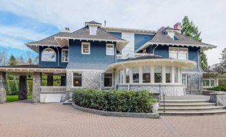 Shaughnessy's c.1912 Rocklands Mansion Reduced to $9.88M, Prev. $12.38M (PHOTOS)